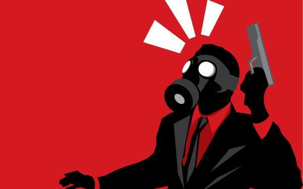 Dark Gas Mask HD Wallpaper | Background Image
