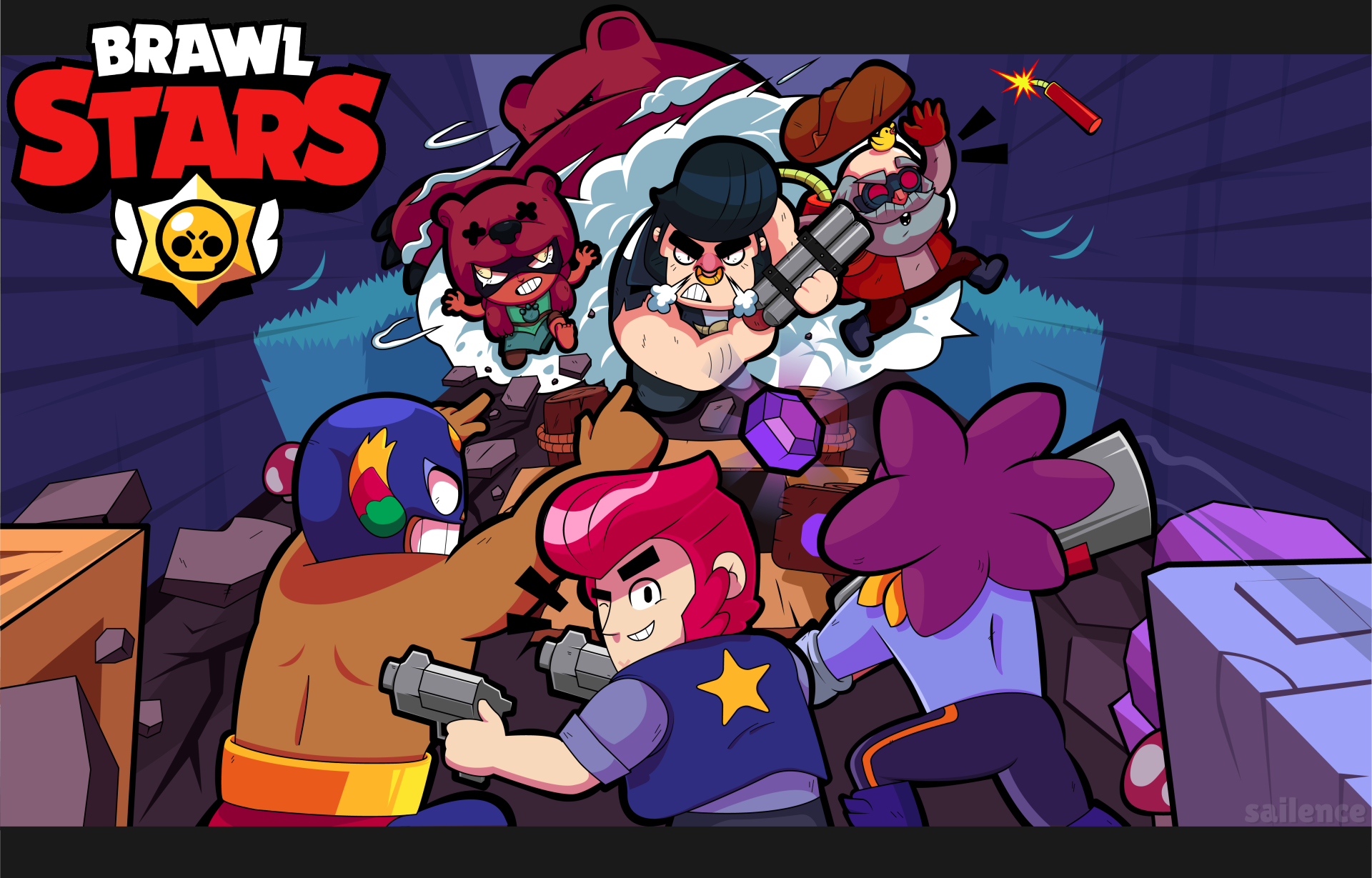 1 4k Ultra Hd Brawl Stars Wallpapers Background Images Wallpaper