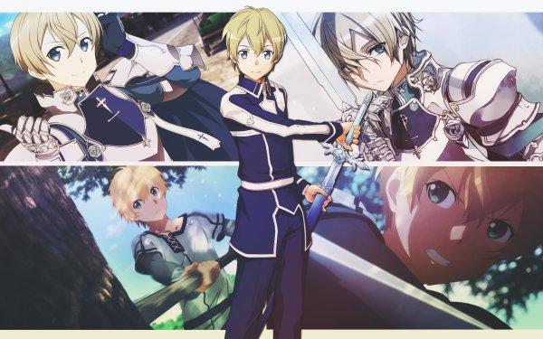 Anime Sword Art Online: Alicization Sword Art Online Eugeo Blue Rose Sword HD Wallpaper | Background Image