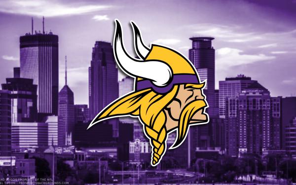 Sports Minnesota Vikings Football NFL Logo Emblem HD Wallpaper | Background Image