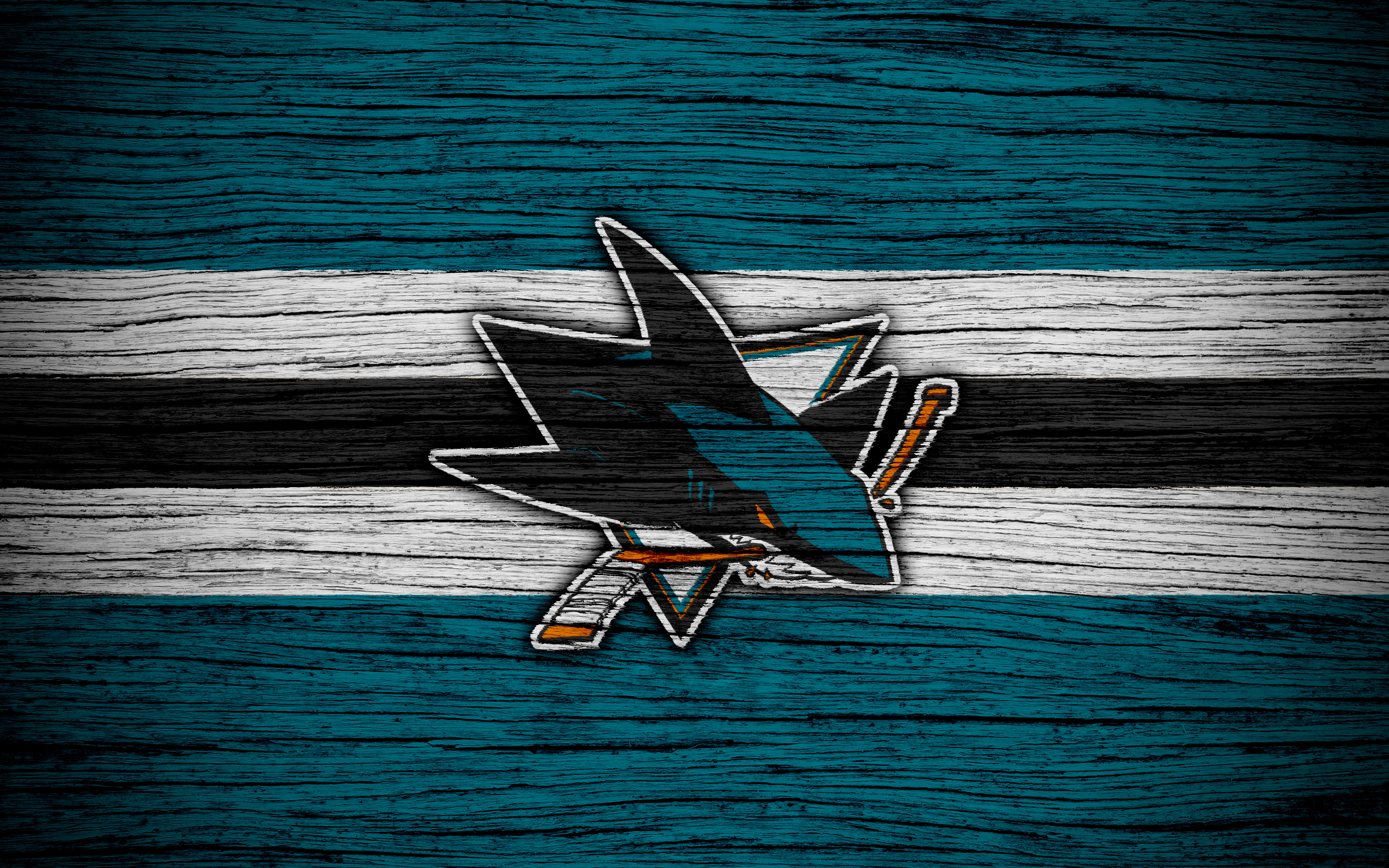 San Jose Sharks 4k Ultra Hd Wallpaper Background Image