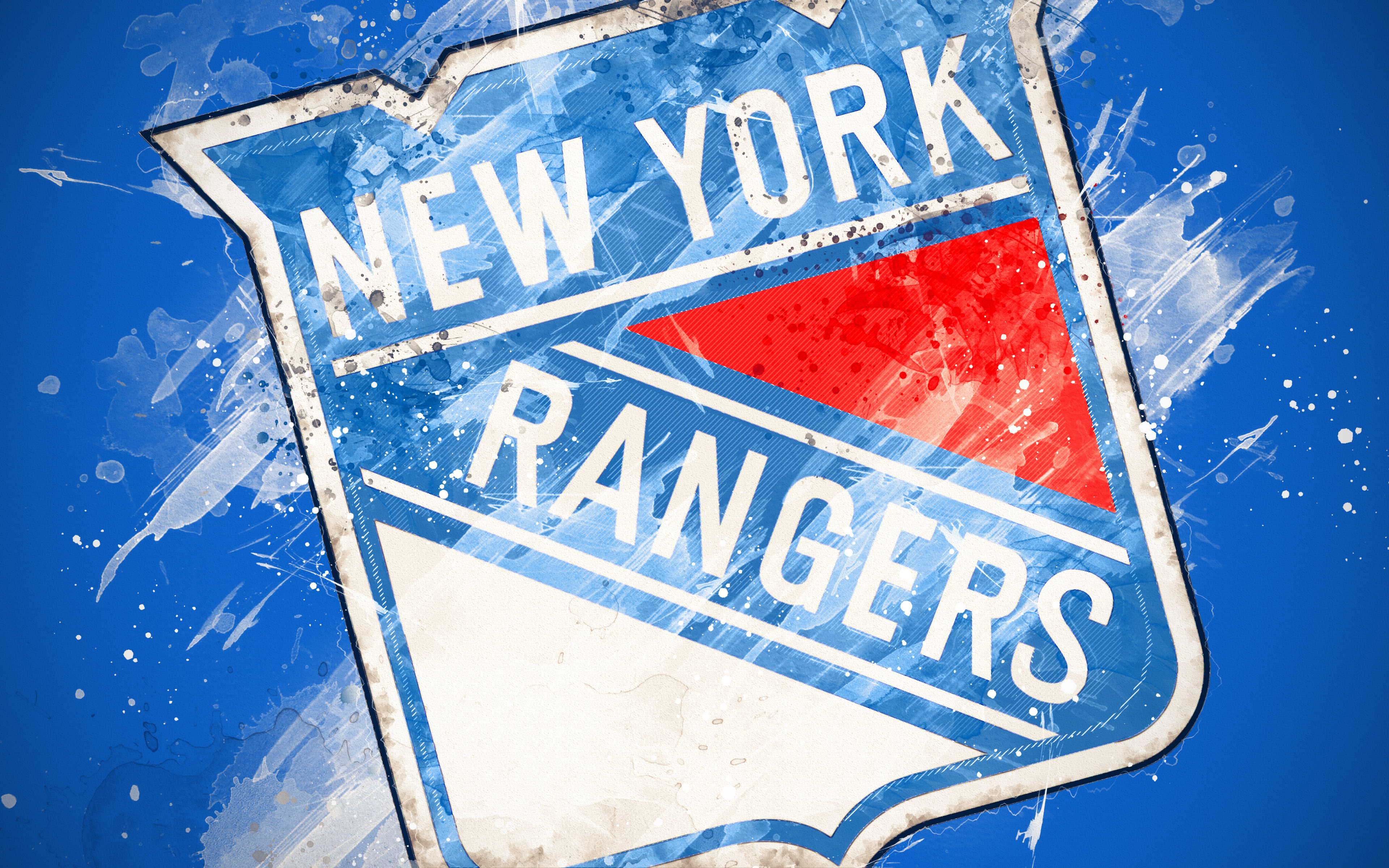 New York Rangers 4k Ultra Hd Wallpaper Background Image