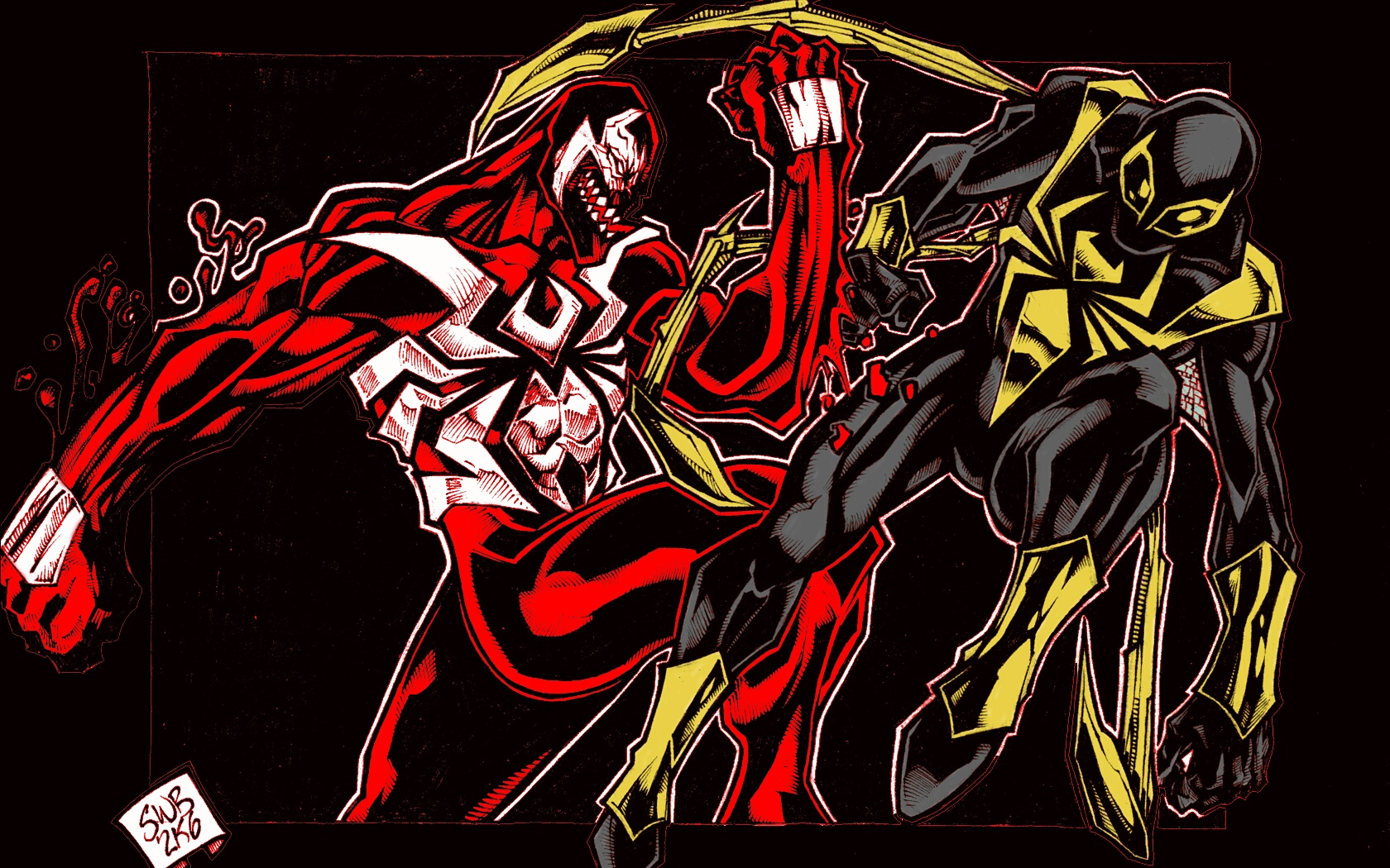 Комиксы - Spider-Man  Обои
