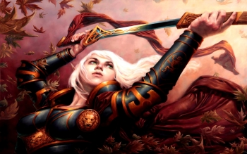 Fantasy - Women Warrior Wallpapers and Backgrounds ID : 98504