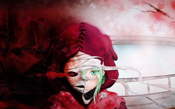 Anime Tokyo Ghoul:re Eto Yoshimura Tokyo Ghoul Green Hair Blue Eyes Bandage Red Eyes Fondo de pantalla HD | Fondo de Escritorio