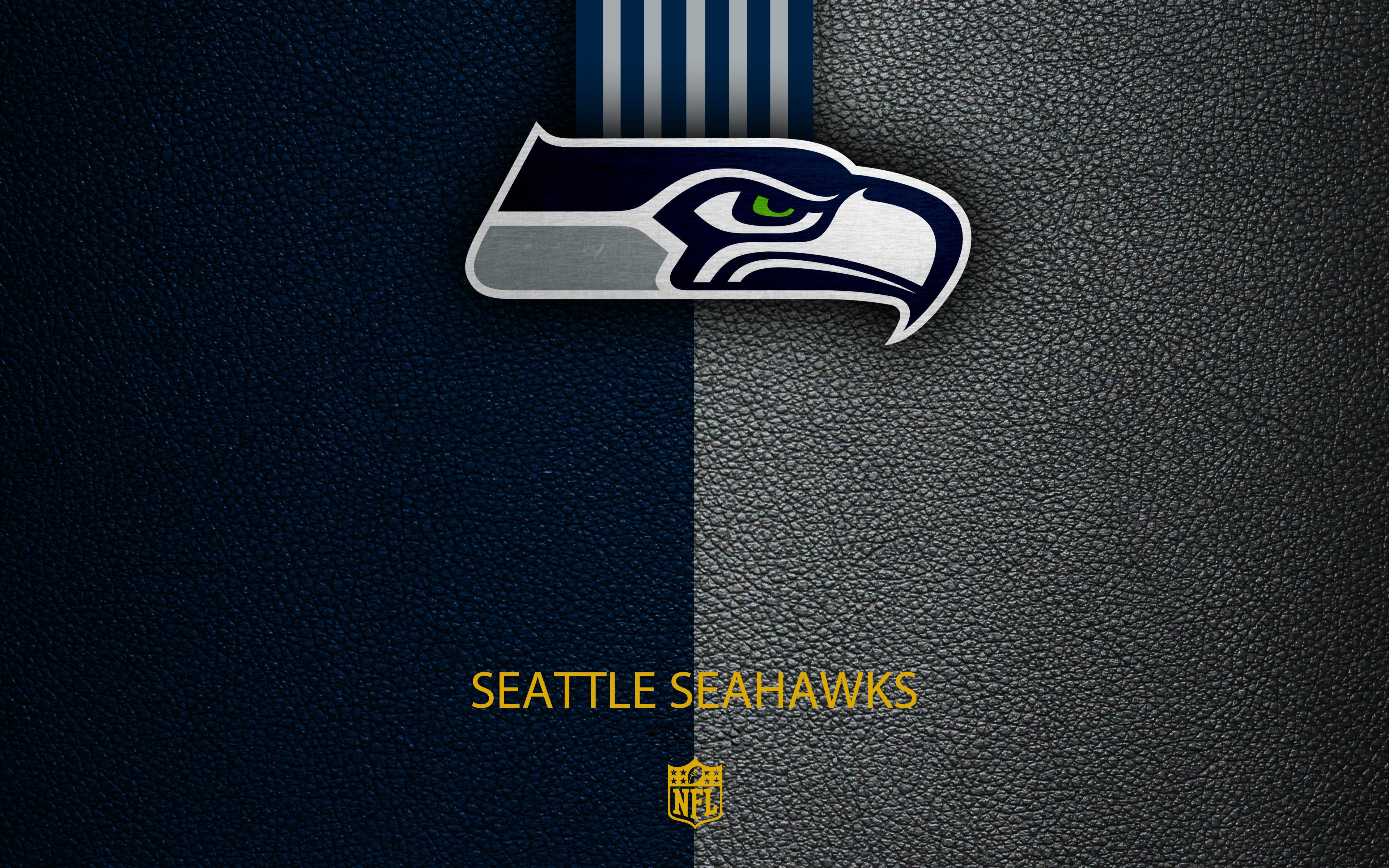 Seattle Seahawks 4k Ultra Hd Wallpaper Background Image 3840x2400 Id 988628 Wallpaper Abyss