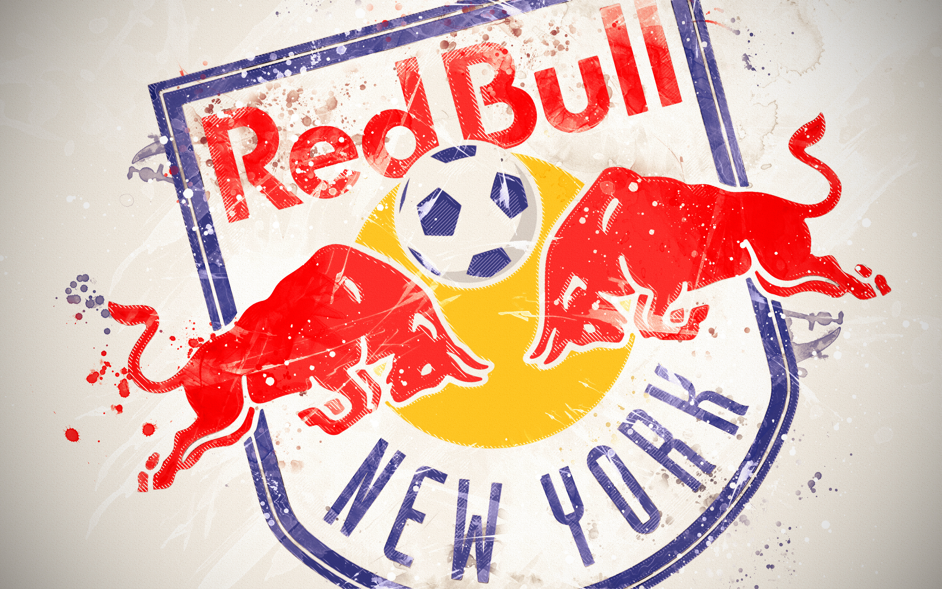 New York Red Bulls 4k Ultra Hd Wallpaper Background Image
