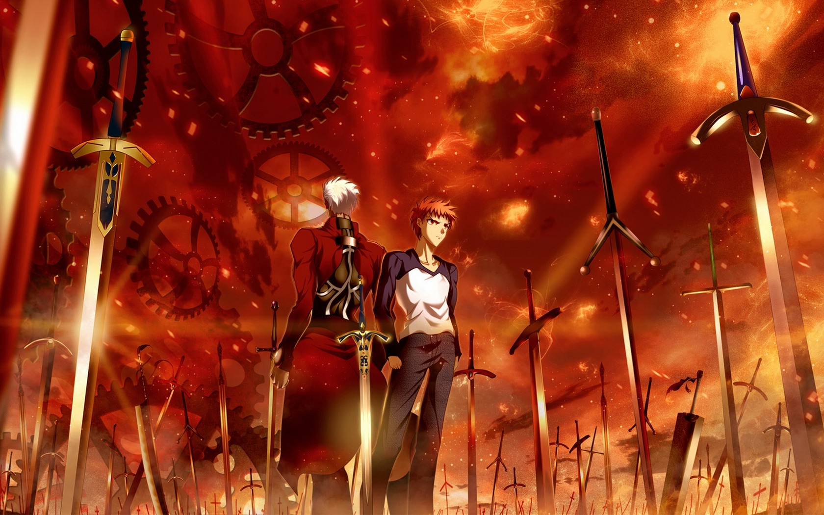 129 fate stay night unlimited blade works hd wallpapers background images wallpaper abyss - Fate stay night wallpaper ...