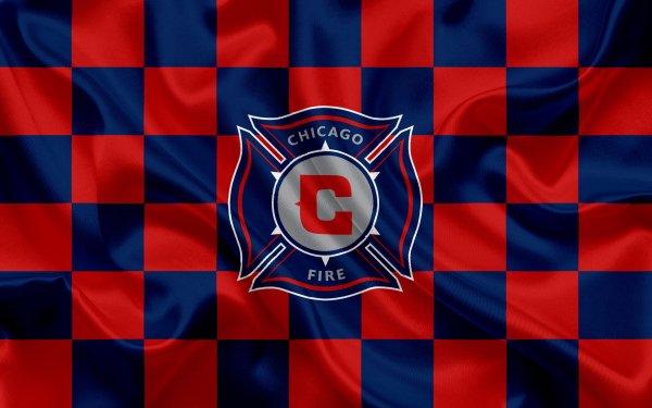 Sports Chicago Fire FC Soccer Club Logo Emblem MLS HD Wallpaper   Background Image