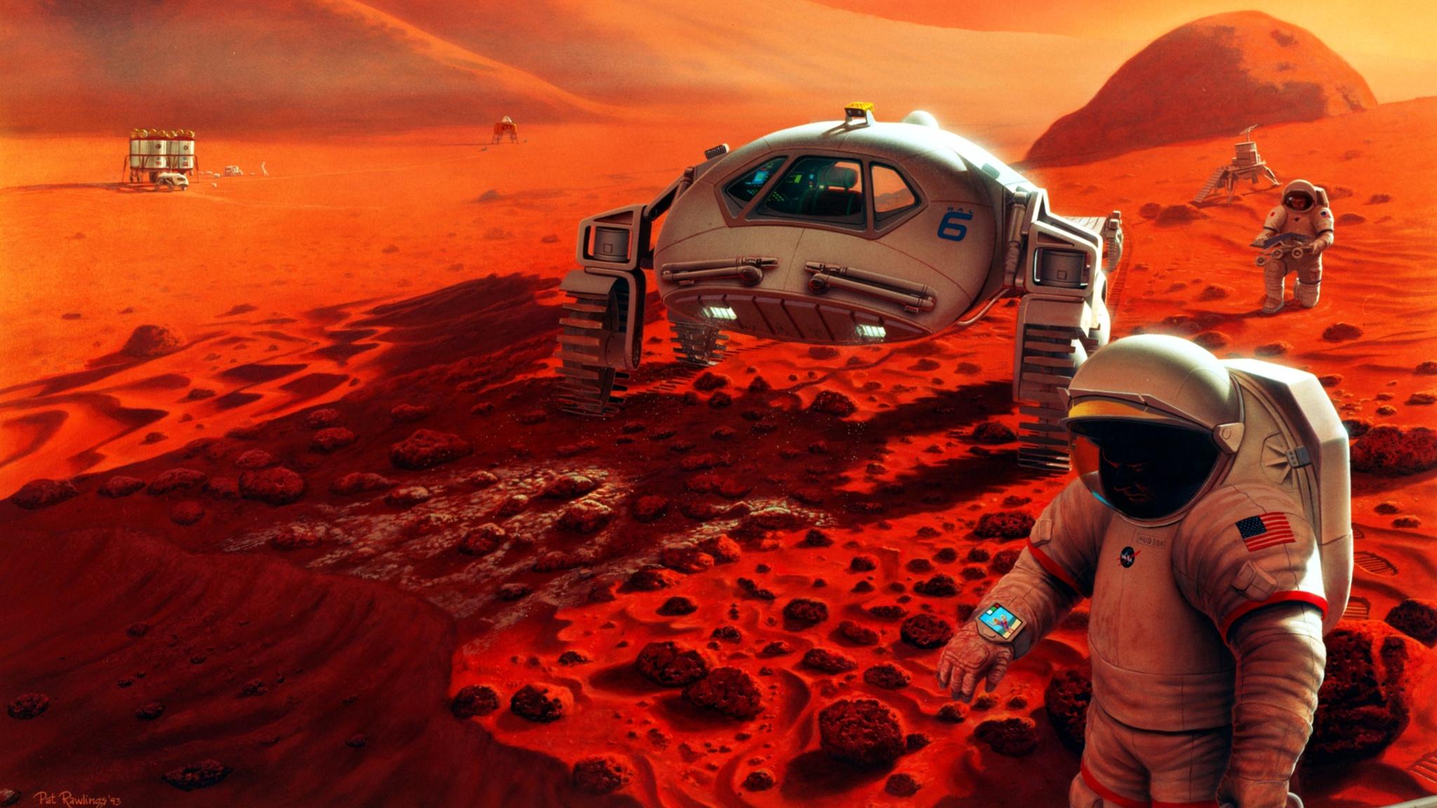 Astronaute Fond Décran Hd Arrière Plan 2048x1152 Id