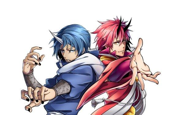 Anime That Time I Got Reincarnated as a Slime Benimaru Souei HD Wallpaper | Background Image