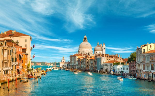 Man Made Venice Cities Italy Grand Canal HD Wallpaper | Background Image