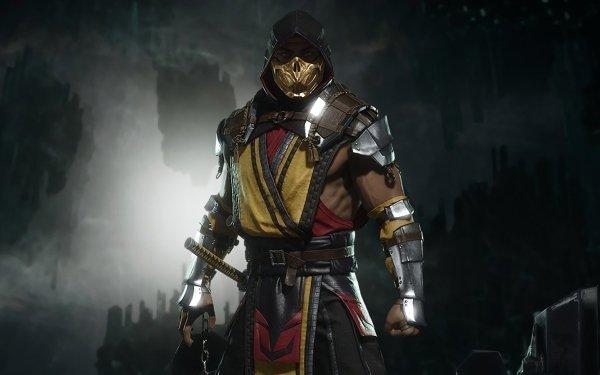 Video Game Mortal Kombat 11 Scorpion HD Wallpaper   Background Image
