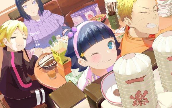 Anime Boruto Naruto Boruto Uzumaki Naruto Uzumaki Hinata Hyuga Himawari Uzumaki HD Wallpaper   Background Image