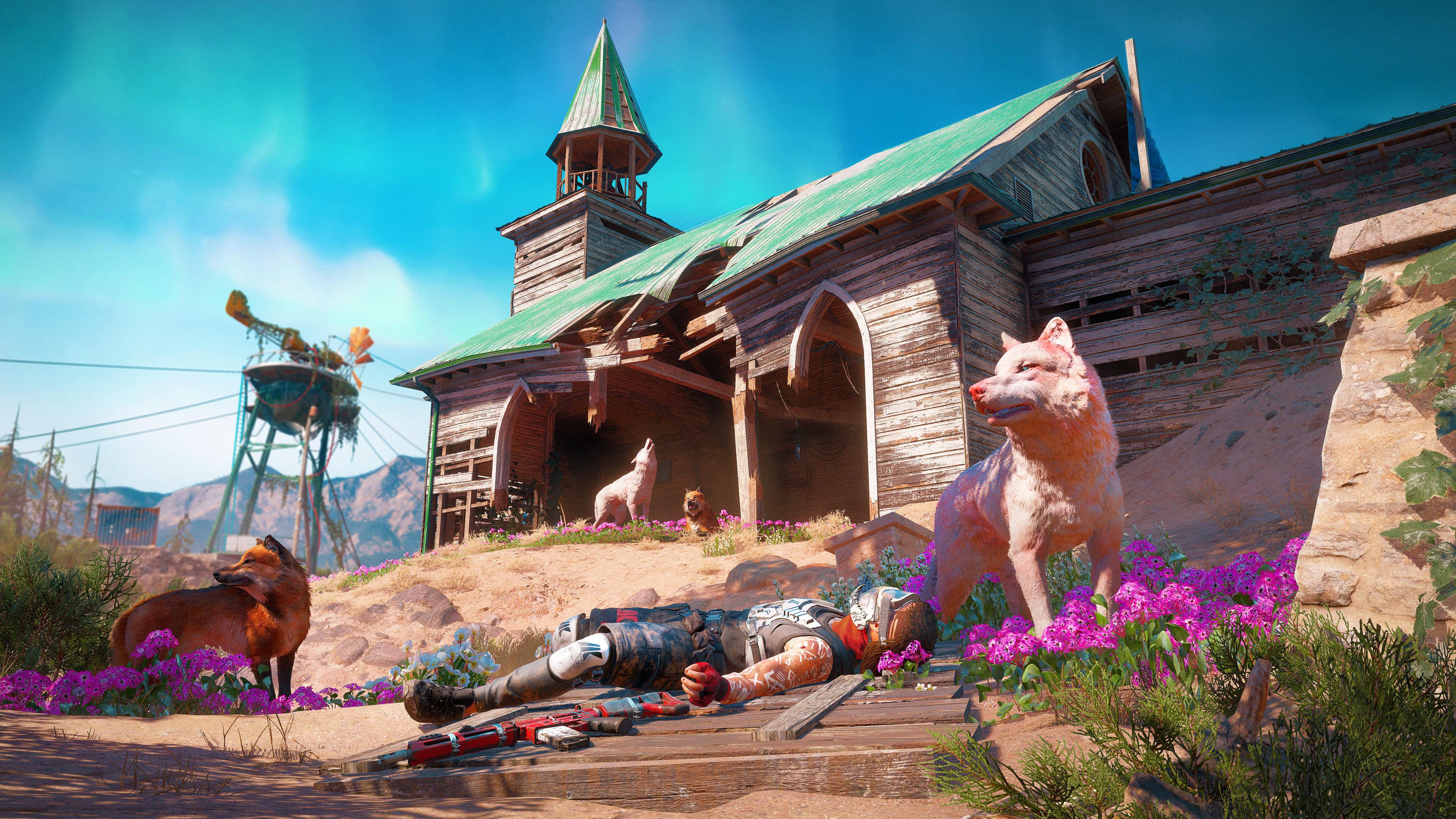 Far Cry New Dawn 4k Ultra HD Wallpaper