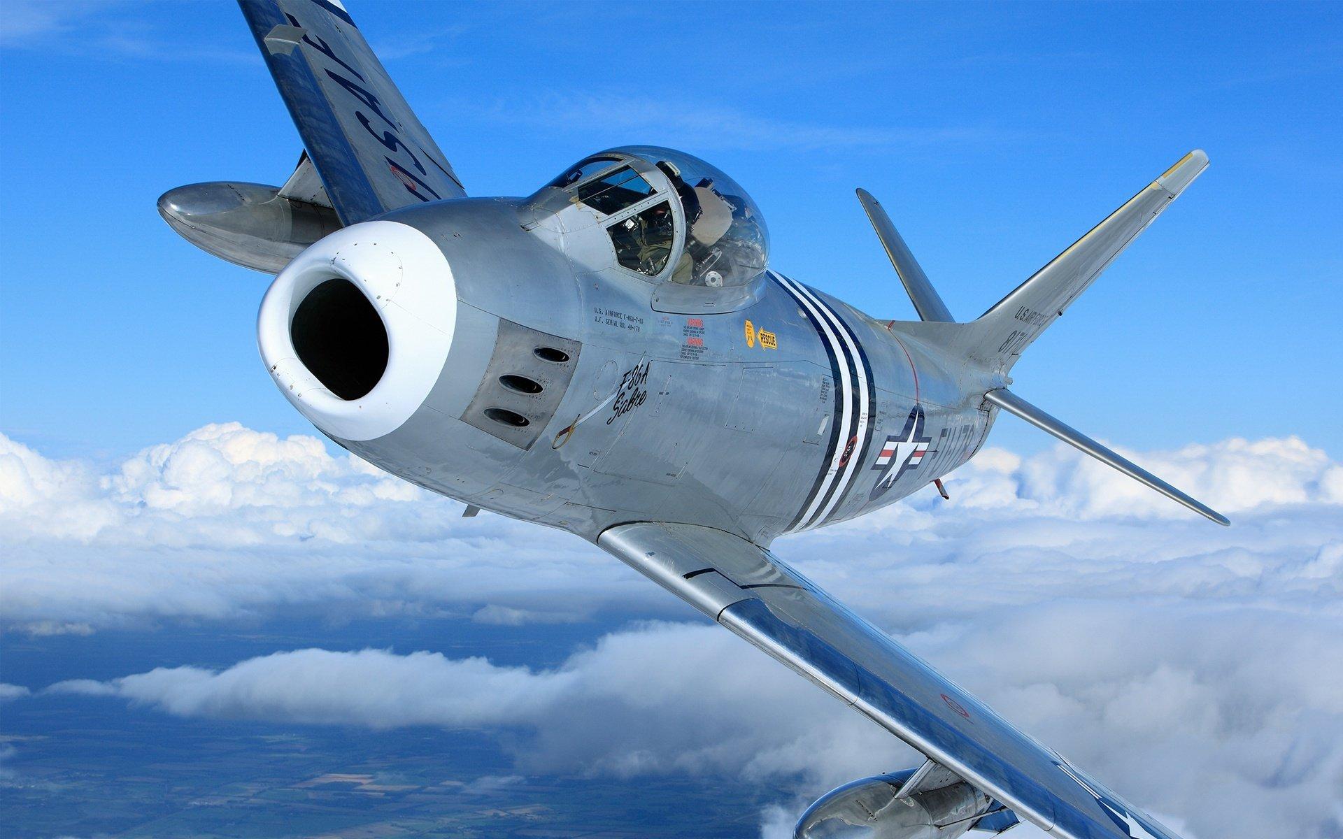 Обои F-86 Sabre, Самолёт. Авиация foto 17