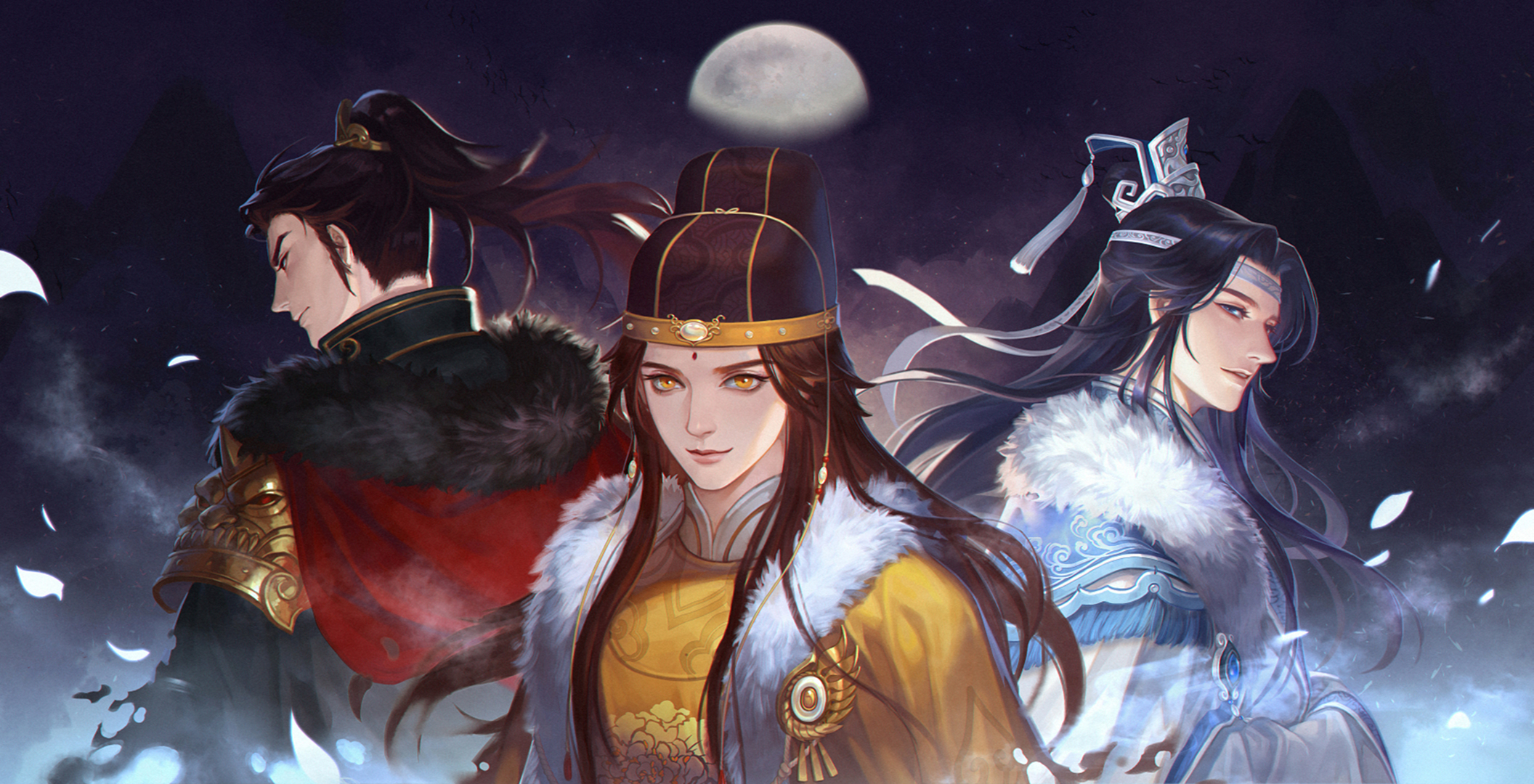 Mo Dao Zu Shi HD Wallpaper | Background Image | 2112x1080 ...