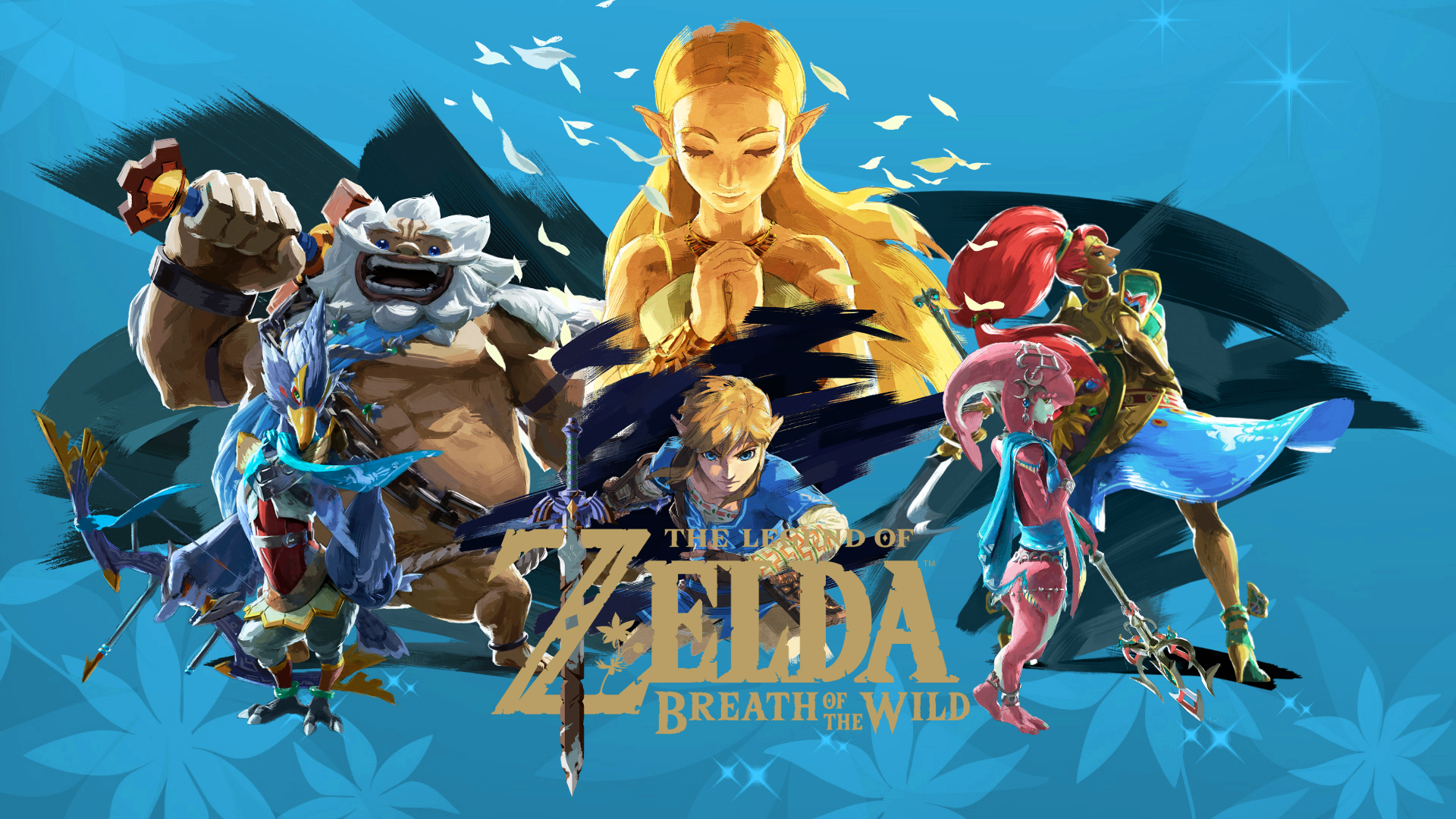 The Legend Of Zelda Breath Of The Wild Hd Wallpaper Background
