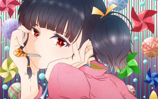 Anime Kabaneri of the Iron Fortress Mumei HD Wallpaper   Background Image