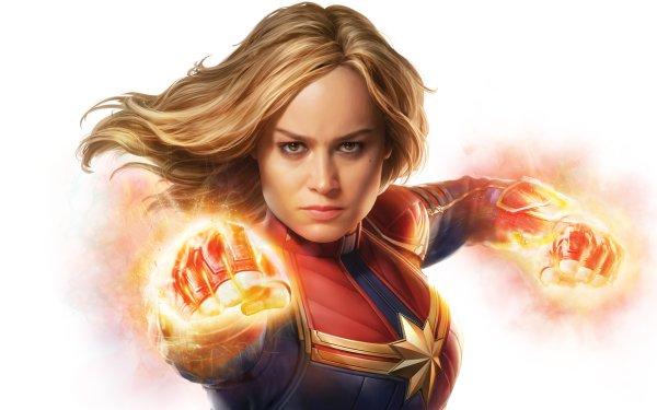 Películas Capitana Marvel Brie Larson Rubia Fondo de pantalla HD | Fondo de Escritorio