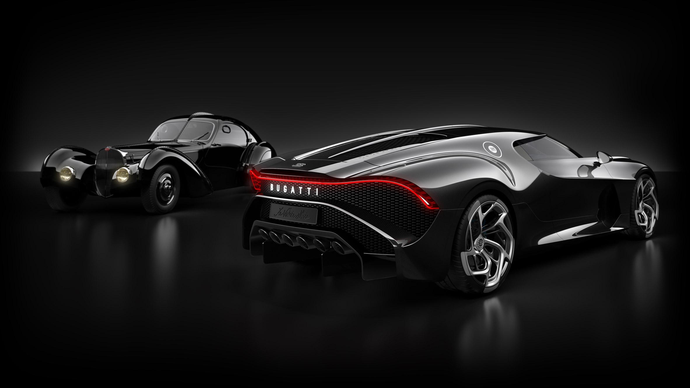 Bugatti La Voiture Noire Fondo De Pantalla Hd Fondo De