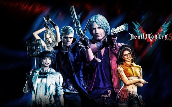 Video Game Devil May Cry 5 Devil May Cry Lady Nico Trish Dante Nero HD Wallpaper | Background Image