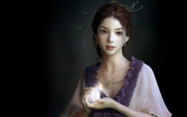 Fantasy Women Asian HD Wallpaper | Background Image
