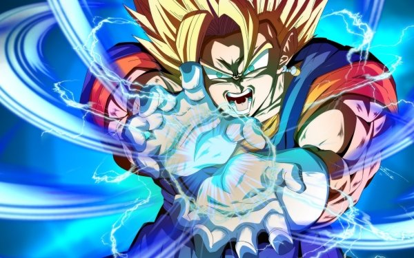 Video Game Dragon Ball FighterZ Dragon Ball Vegetto HD Wallpaper | Background Image